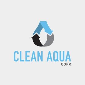 Clean Aqua branding