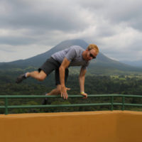 Ted Hawkes, Mt. Arenal, Costa Rica